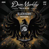 Струны DEAN MARKLEY 8000 BLACKHAWK COATED ELECTRIC LT (09-42)