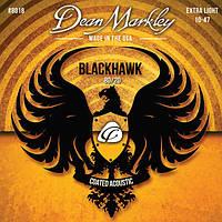 Струны DEAN MARKLEY 8018 BLACKHAWK ACOUSTIC 80/20 BRONZE XL (10-47)