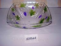 Салатник пластиковый квадратный, фото 1