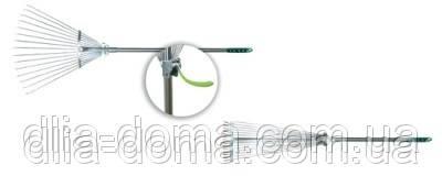 Грабли веер с регулируемой ручкой