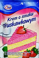 Крем десертный клубничный Krem o smaku Truskawkowym Emix 100 h.
