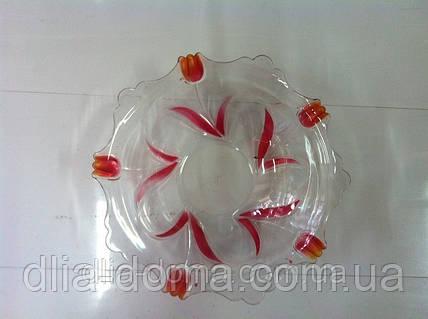 Салатник пластиковый круглый Д-26 см