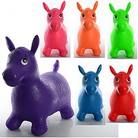 Прыгун-лошадка резиновый для малышей