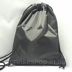 Рюкзак для змінного взуття сірий