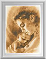 Вышивка камнями Dream Art Любовь матери (DA-30259) 43 х 60 см