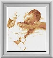 Вышивка камнями Dream Art Заботливые руки (DA-30333) 30 х 35 см