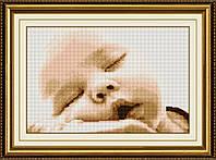 Вышивка камнями Dream Art Мамина нежность (DA-30356) 34 х 54 см