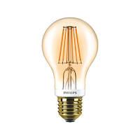 Лампа светодиодная Philips LED Classic 7.5-60W A60 E27 2000K GOLD APR