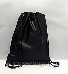 Рюкзак для змінного взуття чорний