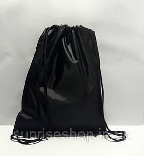 Рюкзак для сменной обуви черный, фото 2