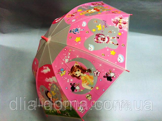 Детский зонт  силиконовый