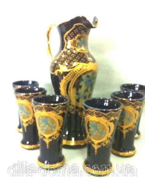 Набор для сока керамический