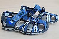 Детские босоножки спорт с закрытым носком для мальчика тм Тoмм р.34,36,37