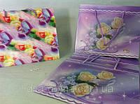 Пакет подарочный цветной 19*23*10 см, фото 1