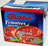 Томатная паста Giana Tomatoes Passata Rajcata 500мл.