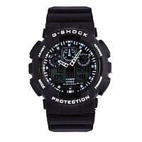 Мужские часы Casio G-Shock GA 100 Black White