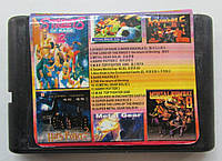 Картридж сборник игр Сега 16 бит AS-1602 16 IN 1