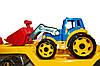 Игрущечная машинка Автовоз с трактором Технок (3916), фото 10