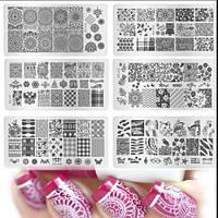 Пластина для стемпинга для печати на ногтях