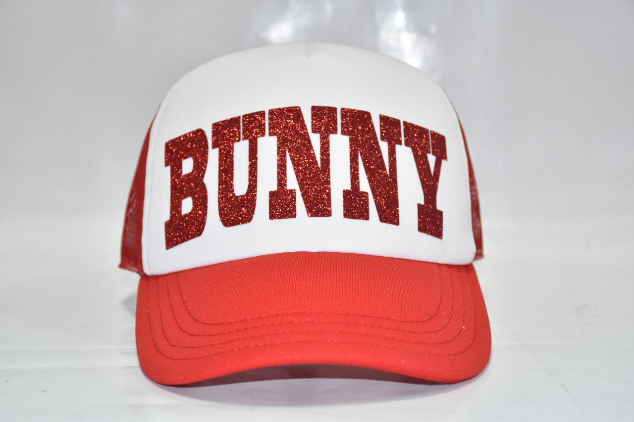 Красная летняя кепка BANNY