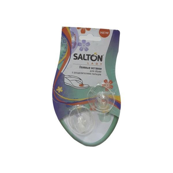 Гелевые вставки для обуви с разделителями пальцев SALTON