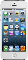 "Китайский iPhone 5 (X5), дисплей 4"",Wi-Fi 2 SIM, FM-радио, Java. Белый"