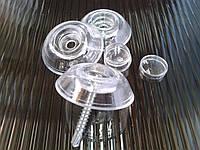 Шайба полікарбонатна прозора без ніжки / Шайба поликарбонатная прозрачная без ножки.