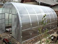 Каркас теплиці під полікарбонат 3х4х2 м / Каркас арочной теплицы под поликарбонат 3х4х2 м.
