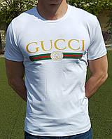 Мужская футболка GUCCI белая