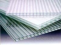Полікарбонат сотовий (стільниковий) SOTON прозорий 6000х2100х4 мм / Поликарбонат сотовый СОТОН прозрачный.