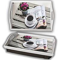 Поднос на подушке информативный завтрак