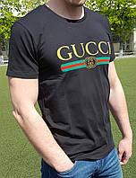 Мужская футболка GUCCI черная