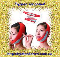 Неопреновый бандаж для коррекции овала лица (второй подбородок, щеки)., фото 1