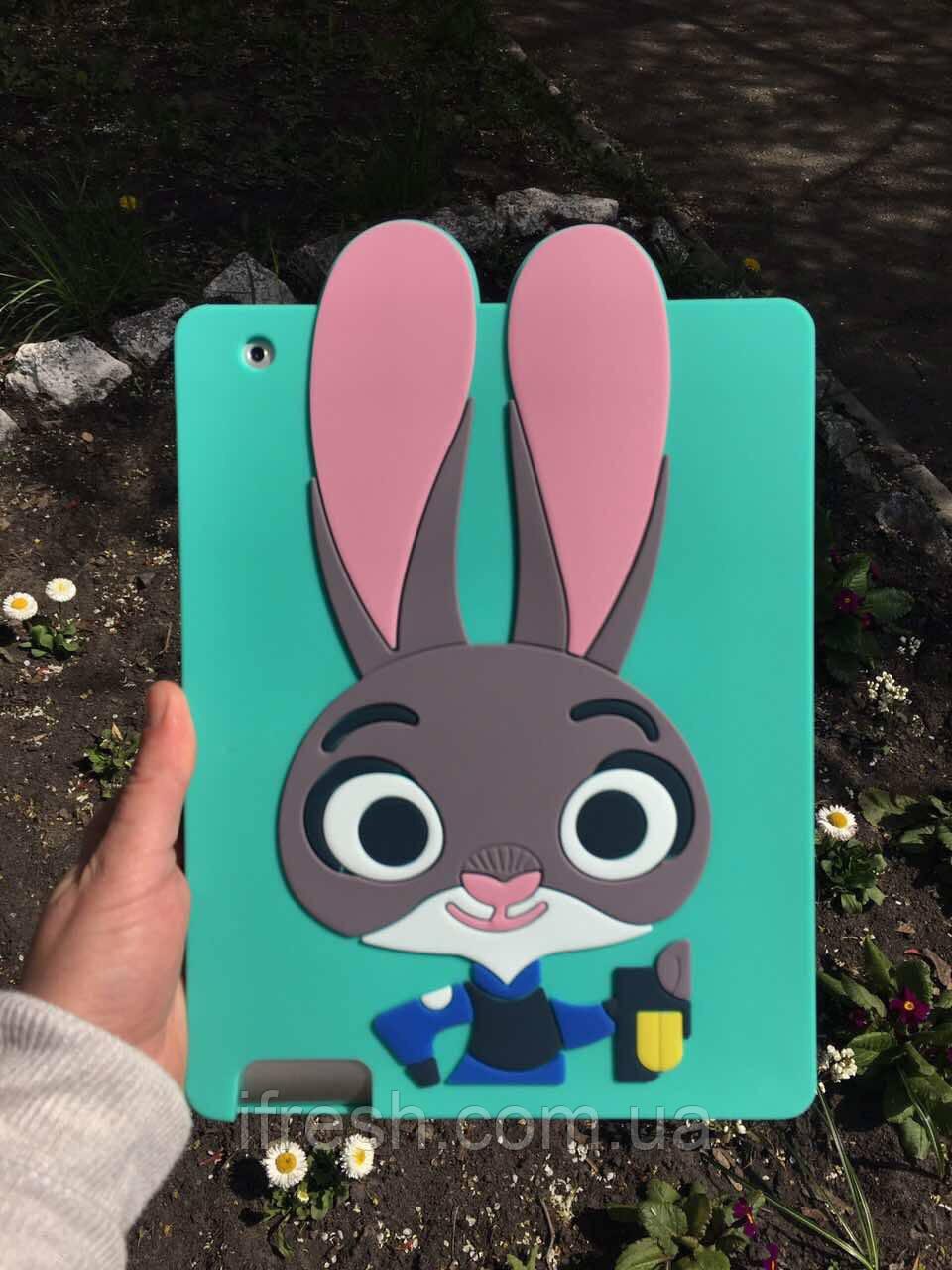 Чехол Джуди Хопс для iPad 2/3/4, Зверополис