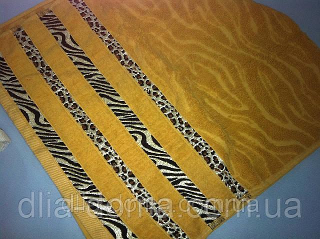 Рушник для обличчя 50*100 см Леопард