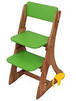 Стул детский регулируемый по высоте зеленый