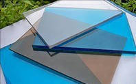 Полікарбонат монолітний, Policam, прозорий 3050х2050х2 мм / Монолитный поликарбонат, Поликам, прозрачный.