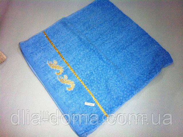 Полотенце для лица 50*100 см Золотые вензеля