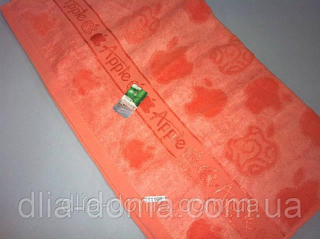 Полотенце банное 70*140 см Яблоко