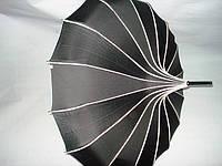 """Зонт женский в китайском стиле """" Пагода"""" Черный"""