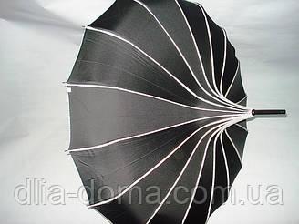 Зонты женские в китайском стиле Пагода Черный