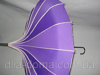 Зонты женские  в китайском стиле Пагода Сиреневый