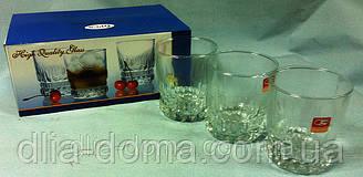 Набор стаканов из стекла 6 шт Высота 13,5 см
