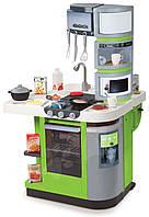 Интерактивная детская кухня Super Master Rouge Smoby - Франция - раскладная кухня салатового цвета