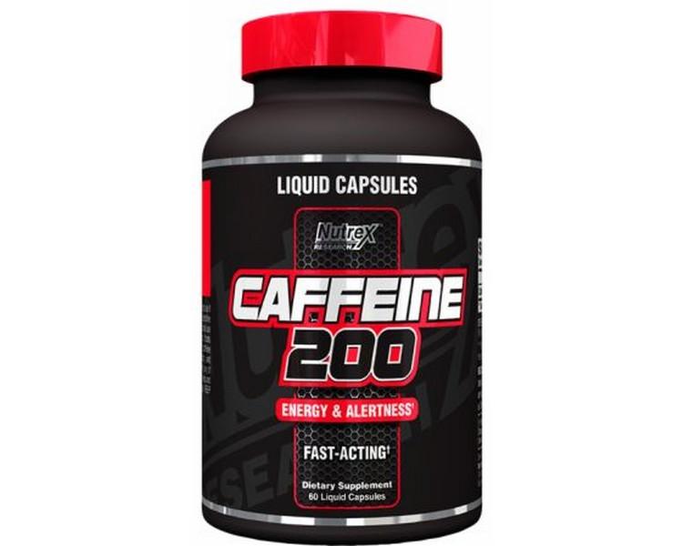 Caffeine 200 60 liquid caps
