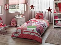 Детское подростковое постельное белье TAC Disney Strawberry Good Night Ранфорс