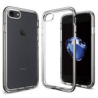 Чехол Spigen для iPhone 7 / 8 Neo Hybrid Crystal, Gunmetal, фото 1