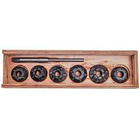 Набор зенкеров для сёдел клапанов ГАЗ-53 (Днепропетровск) ШАРГ53-9Р SNG