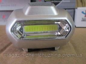 Налобный фонарик Bailong BL 2088 COB!Акция, фото 2