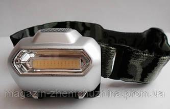 Налобный фонарик Bailong BL 2088 COB!Акция, фото 3
